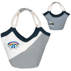 cute striped rope tote #promotionalproducts
