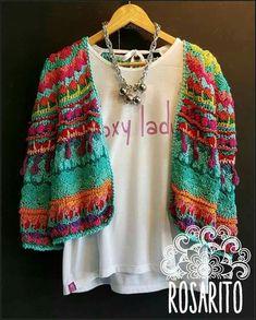 T-shirt Au Crochet, Cardigan Au Crochet, Pull Crochet, Gilet Crochet, Mode Crochet, Crochet Coat, Crochet Shirt, Crochet Jacket, Crochet Clothes