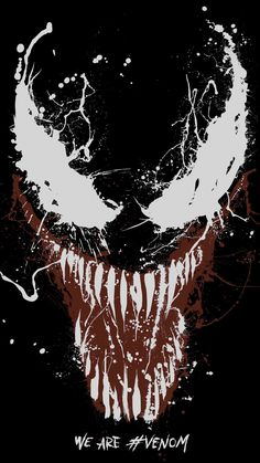 Trailers, clips, featurettes, images and posters for the Spider-Man spinoff VENOM starring Tom Hardy. Marvel Avengers, Comics Spiderman, Marvel Comics, Bd Comics, Venom Spiderman, Superhero Movies, Comic Movies, Comic Games, Deadpool Wallpaper