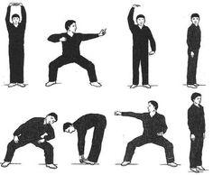 Chi Kung Para Todos: 8 Piezas de Seda o Brocado BA DUAN JIN