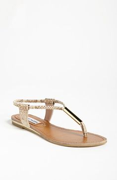 Wear these w/ your maxi (skirt or dress) and with cute summer shorts! Steve Madden Hamil Sandal | Nordstrom