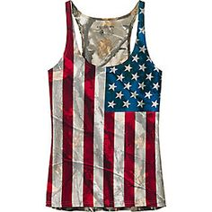 Ladies Big Game Camo Nation Tank Top. I NEED THIS!!