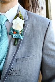 gray and light blue wedding - Google Search