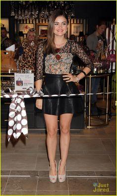 Lucy Hale: Henri Bendel Opening in Vegas! | lucy hale henri bendel opening 11 - Photo