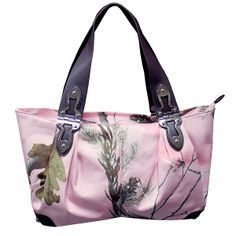 Realtree AP Pink Camo Satchel handbag