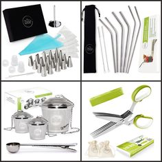 It's GIVEAWAY TIME! Sign up below to enter for your chance to win our all-inclusive Cyber Monday package! The winner will get ALL of our top 4 best selling products on Amazon.com: The Chefast™ tea infuser set, the Chefast™ herb scissors set, the Chefast™ decorating tip set, and the Chefast™ stainless steel drinking straws set. SIGN UP NOW! Please note, this contest is only open for U.S. residents