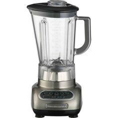 4. Use a BLENDER for puréeing, blending liquids, or emulsifying. | This Is What You Need To Know About Kitchen Mixers