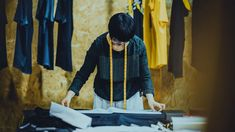 Meaningful work isn't something you can find or pluck out of thin air. Clothing Co, Online Clothing Stores, Starting A Clothing Business, Garment Manufacturing, Sewing Courses, Fashion Clothes Online, Designer Clothes For Men, Fashion Line, Custom Clothes