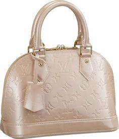 Louis Vuitton Alma Rose Florentin - my favorite go-to bag for spring/summer.