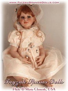Коллекционная кукла виниловая - Аллюра
