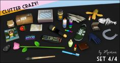 Martine's Simblr • Clutter Crazy Part 4 - Odds and Ends Do you love...