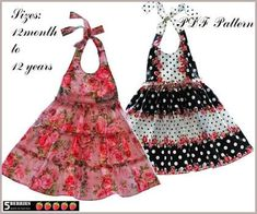 Resultado de imagen para infant dress sewing patterns