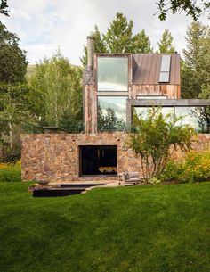 Rustic modern in Aspen, Colorado
