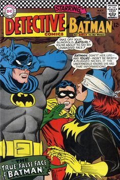 Detective Comics #363, May 1967 by Carmine Infantino and Murphy Anderson