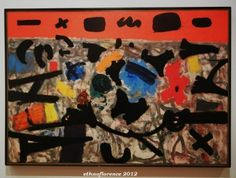 Adolph Gottlieb  Yale art Gallery Hot Horizon 1956 New Haven Yale, Tribal Art, Old And New, Folk, Art Gallery, University, Rooms, Painting, Bedrooms