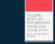 Free PowerPoint Download: Dark Blue & Pink Corporate Template