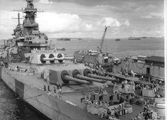 Battleship USS Iowa in dry-dock 1944 | by Konabish ~ Greg Bishop