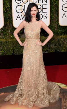 Eva Green from 2016 Golden Globes Red Carpet Arrivals | E! Online