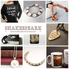 17 most fashionable Shakespeare gifts - The best Shakespeare gifts in one concise list. Clothing, jewelry, posters, t-shirts, iPhone & Sams - Dainty Jewelry, Cute Jewelry, Bohemian Jewelry, Crystal Jewelry, Handmade Jewelry, Diamond Jewelry, Gold Jewelry, Personalized Jewelry, Antique Jewelry