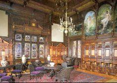 Romania: Interior of The Peles Castle from Sinaia