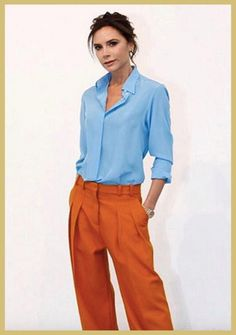 This 'Borrowed From The Boys' Look By Victoria Beckham Is Worth A Try