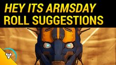 Armsday Roll Suggestions by Planet Destiny (August 31st)  #DestinyTheGame #Armsday #TheTakenKing #PlanetDestiny