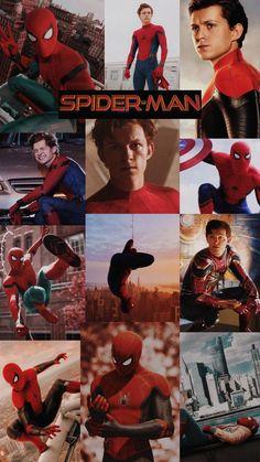 Spiderman (Tom Holland) Wallpaper Fondo de pantalla de Spiderman (Tom Holland)