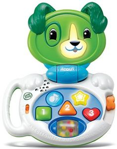 MY TALKING LAPPUP @ abledata.com - educational toy designed for use by young children with low vision or cognitive or learning disabilities. Designed for children 6 to 24 months old, this toy is available in two versions - Scout or Violet.