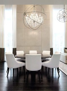 Love This Amazing Chandelier From A Kelly Hoppen Dining Room