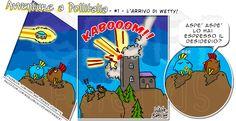 [#1] Avventure a Pollitalia – L'arrivo di Wetty