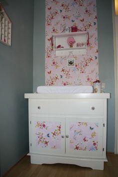 Babykamers op babybytes: baby-meisje