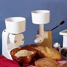 Family Grain Mill - motor or hand powered options