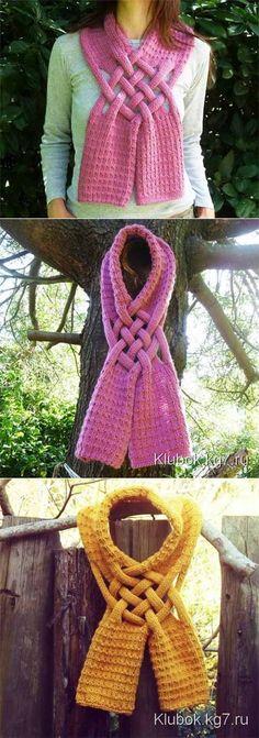 И шарф, и украшение   Искусница