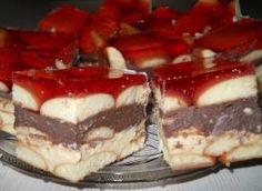 Placek biszkoptowy z kremem budyniowym i galaretką (na zimno) Tiramisu, Recipies, Cheesecake, Ethnic Recipes, Food, Recipes, Cheesecake Cake, Rezepte, Cheesecakes