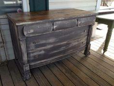 rustic dresser (buffet?)
