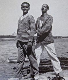 Federico García Lorca and his best friend Salvador Dalí