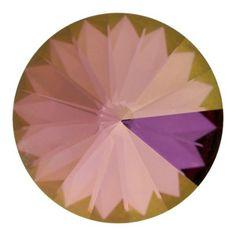 1122 8mm Crystal Lilac Shadow Swarovski Elements Crystal Rivoli Stone   Fusion Beads