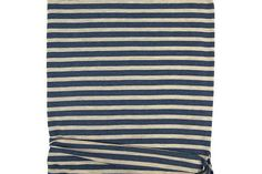 Blue and Heather Custard Knit Jersey Fabric 39 inches length