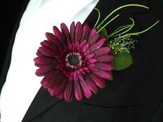 Gerbera boutonniere,wedding accessories,groom flowers by IrynaFleur on Etsy https://www.etsy.com/listing/264295994/gerbera-boutonnierewedding