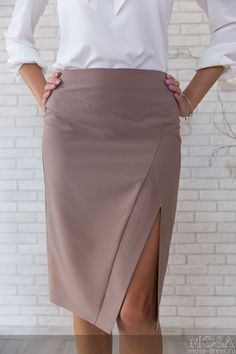 35 Pencil Skirts That Always Look Great - Daily Fashion Outfits Pencil Skirt Casual, Pencil Skirt Outfits, Denim Pencil Skirt, High Waisted Pencil Skirt, Pencil Skirts, Denim Skirt, Pencil Dresses, Modest Fashion, Fashion Outfits