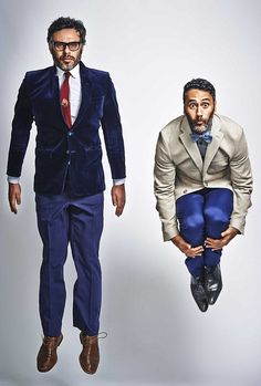 Hollywood makeover: Jemaine Clement and Taika Waititi strike pose ahead of the release of ...