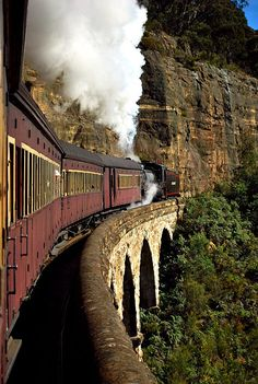Mountain Trains – Symbiosis of Industry and Nature