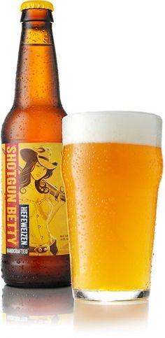 Lonerider Beer | Shotgun Betty Hefeweizen