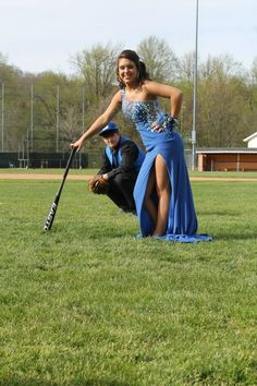 Baseball/softball prom photos - Hairstyles For All Prom Pictures Couples, Homecoming Pictures, Prom Couples, Prom Photos, Dance Photos, Prom Pics, Softball Pictures, Senior Pictures, Volleyball Photos