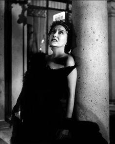 """Gloria Swanson en """"El Crepúsculo de los Dioses"""" (Sunset Boulevard), 1950"""