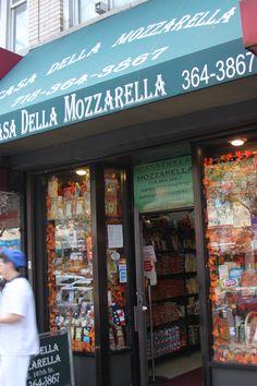 Casa Della Mozzarella on Arthur Avenue, Bronx, NY