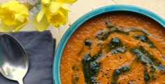 Low FODMAP Carrot and Coriander Soup - cooklowfodmap.com - lots of vegtarian, soups, stuff I wouldn't have to modify etc