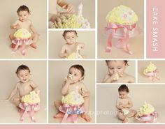 Baby Sydonie | First Birthday Cake Smash Photography