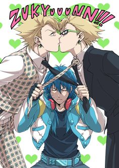 Yes! Aoba has the right idea! I ship Virus and Trip as well as Aoba with everyone else from DRAMAtical Murder.