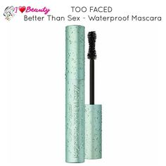 Too faced better than mascara is now coming to us in a waterproof formula yessssss!!!! They are releasing it soon.  We will update everyone closer to the time.  http://iheartbeauty.ae by iheartbeauty.ae